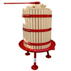 Nyitható kosaras szőlőprés 43 liter