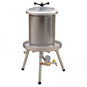 Víznyomásos szőlőprés, hidroprés, 40 liter