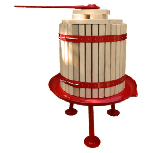 32 L kézi szőlőprés nyitható