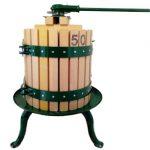 50 literes szőlőprés racsnis fejjel