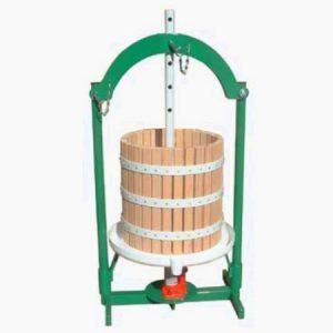 hidraulikus szőlőprés 30 liter