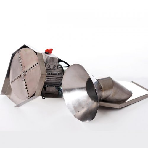 Saválló elektromos almadaráló - saválló acél kivitel