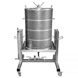 Víznyomásos szőlőprés, hidroprés