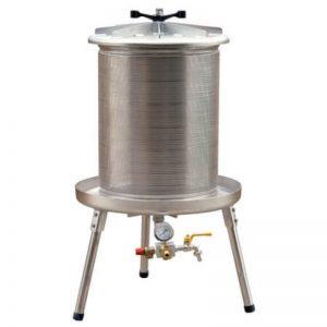 Víznyomásos szőlőprés, hidroprés, 80 liter