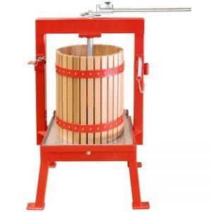 36 literes almaprés, szőlőprés tölgyfa kosárral