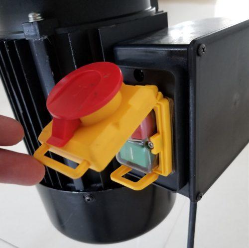 Elektromos almadaráló, gyümölcsdaráló - biztonsági kapcsoló